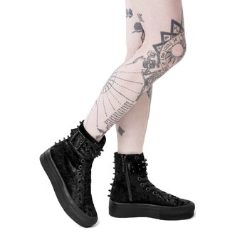 Ženske Wedge čizme  - UNHOLY HIGH TOPS - KILLSTAR, KILLSTAR
