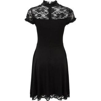 Ženska haljina KILLSTAR - VALERIAN - CRNA, KILLSTAR