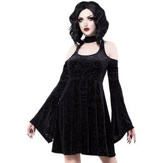 Ženska haljina KILLSTAR - Vela - BLACK, KILLSTAR