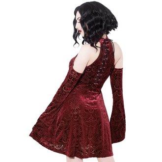 Ženska haljina KILLSTAR - Vela - VINO, KILLSTAR