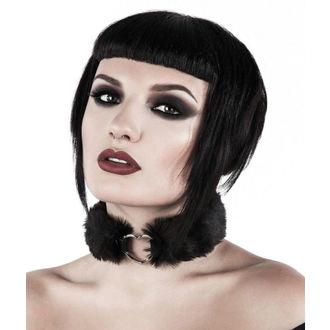 Choker ogrlica KILLSTAR - Venus Fur Choker - Black, KILLSTAR