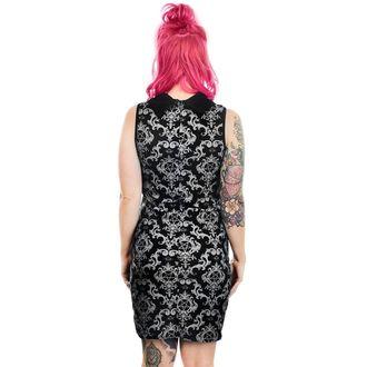 Ženska haljina TOO FAST - BAROKNI Victorian GOTHIC pentagram SRIJEDA ADDAMS COL LAR, TOO FAST