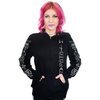 Ženska majica s kapuljačom - WITCHCRAFT OCCULT SYMBOLS - TOO FAST, TOO FAST