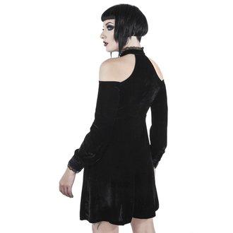 Ženska haljina KILLSTAR - WICKED WEBUTANT SKATER - BLACK, KILLSTAR
