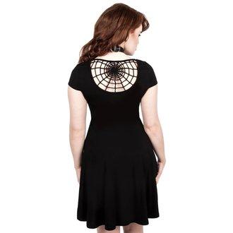 Ženska haljina KILLSTAR - WIDOWS SKATER - BLACK, KILLSTAR