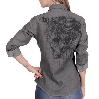 Košulja ženska HYRAW - CHEMISE SKULLZ, HYRAW