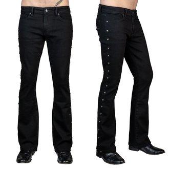 Muške hlače (traperice) WORNSTAR - Gauntlet Skull - Black, WORNSTAR