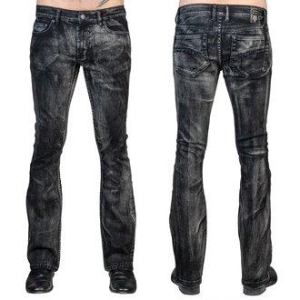 Muška hlače (traperice) WORNSTAR - Hellraiser Smoke - Black, WORNSTAR