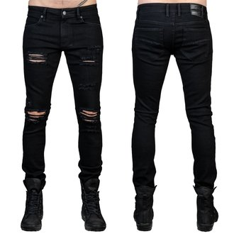 Muške hlače (traperice) WORNSTAR - Rampager Shredded - Black, WORNSTAR