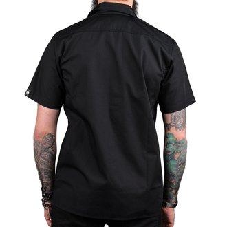 Muška košulja WORNSTAR - MASTER Drifter Essentials - Crna, WORNSTAR
