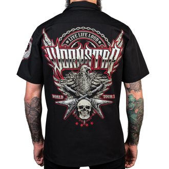 Muška košulja WORNSTAR - Screaming Eagle - Black, WORNSTAR