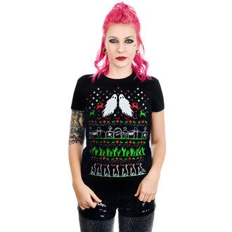 Ženska majica gotik i punk - GRAVE ROBBER ZOMBIE XMAS VS HALLOWEEN BABYDOLL CHR - TOO FAST, TOO FAST