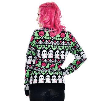Ženski džemper TOO FAST - CULT HOCUS POCUS BATS - DUHOVI &0 bundeva, TOO FAST