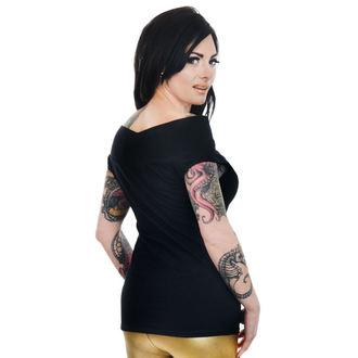Ženska majica gotika i punk - FOXY OFF THE SHOULDER - TOO FAST, TOO FAST