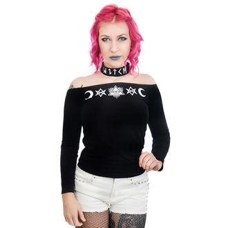 Majica gotika i punk ženska - TABITHA CHOKER - TOO FAST, TOO FAST