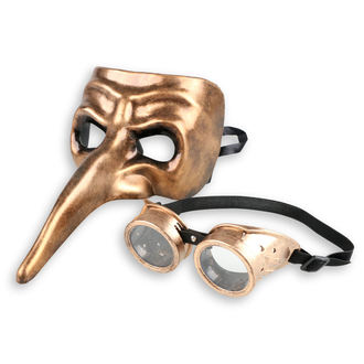 Ukrasna maska za lice (Set) ZOELIBAT - Steampunk, ZOELIBAT