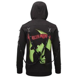 Majica s kapuljačom unisex KILLSTAR - Marilyn Manson - Smells Like Manson - Black, KILLSTAR, Marilyn Manson