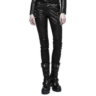 Ženske hlače PUNK RAVE - K-297 Mantrap leather, PUNK RAVE
