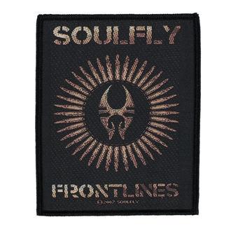 Zakrpa SOULFLY - FRONTLINES - RAZAMATAZ, RAZAMATAZ, Soulfly