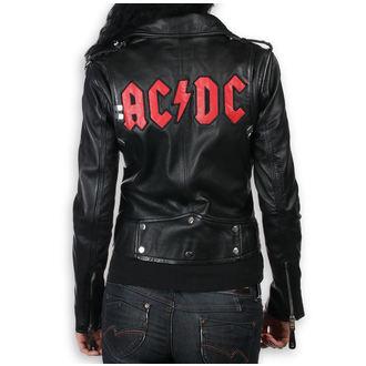 Ženska kožna jakna AC-DC - LNTC Crna -, NNM, AC-DC