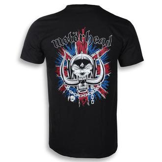Muška metal majica Motörhead - British Warpig & Logo - ROCK OFF, ROCK OFF, Motörhead