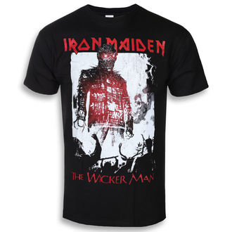 Muška metal majica Iron Maiden - The Wicker Man Smoke - ROCK OFF, ROCK OFF, Iron Maiden