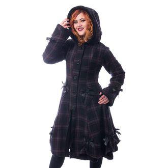 Ženski kaput Poizen Industries - ALICE - BLACK, POIZEN INDUSTRIES