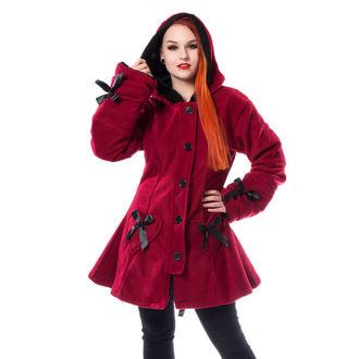Ženski kaput POIZEN INDUSTRIES - ALISON - RED, POIZEN INDUSTRIES