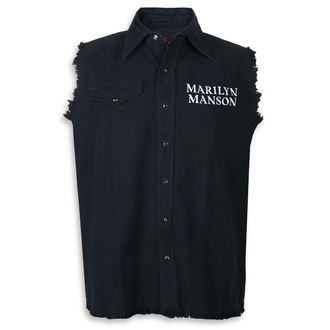 Košulja bez rukava (Prsluk) Marilyn Manson - Cross Logo - RAZAMATAZ, RAZAMATAZ, Marilyn Manson