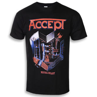 Muška metal majica Accept - METAL HEART 1 - PLASTIC HEAD, PLASTIC HEAD, Accept