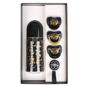 Poklon set za bebe ROCK STAR BABY - GOLD LEOPARD, ROCK STAR BABY