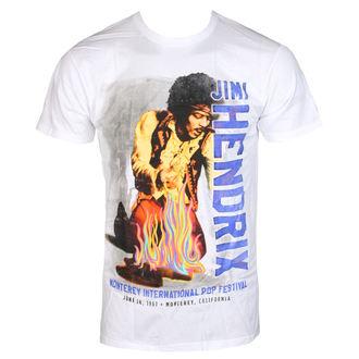 Muška metal majica Jimi Hendrix - RAINBOW GUITAR FIRE - BRAVADO, BRAVADO, Jimi Hendrix