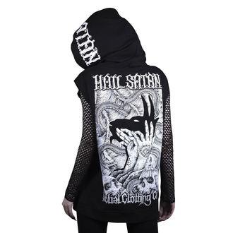 Majica s kapuljačom unisex - hail satan - BELIAL, BELIAL