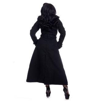Ženski kaput Rockabella - BIANCA - BLACK, ROCKABELLA