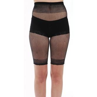Ženske kratke hlače (Najlonke) PAMELA MANN - Fishnet Cycling - Black, PAMELA MANN