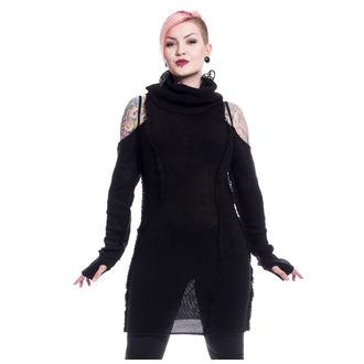 Ženski džemper Vixxsin - BLACK ORCHID - CRNI, VIXXSIN