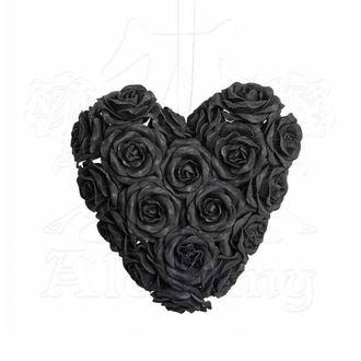 Ukras ALCHEMY GOTHIC - Black Rose Heart, ALCHEMY GOTHIC