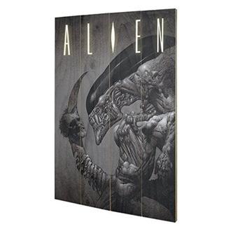 Drvena slika Alien - (glava Na Rep) - PYRAMID POSTERS, PYRAMID POSTERS, Alien - Vetřelec