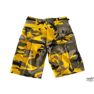 Kratke hlače US BDU - YELLOW-CAM, BOOTS & BRACES
