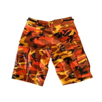 kratke hlače muške Američko-BDU - Army - Narančasta Camo, BOOTS & BRACES