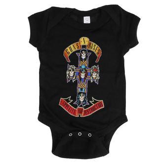 Dječji bodi Guns N' Roses - AFD CROSS ONESIE - BLACK - BRAVADO, BRAVADO, Guns N' Roses