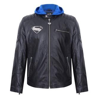 Kožna jakna Superman - CRNA -, NNM