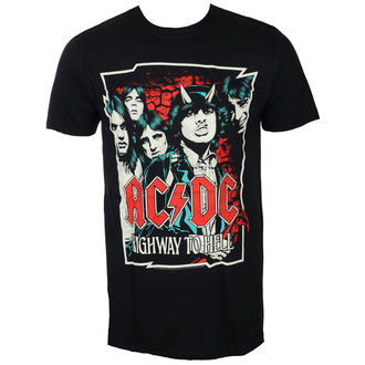 Majica metal muška AC-DC - CARTOON - LIVE NATION, LIVE NATION, AC-DC