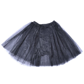 Ženska suknja Poizen Industries - COR MIDI TUTU - BLACK, POIZEN INDUSTRIES