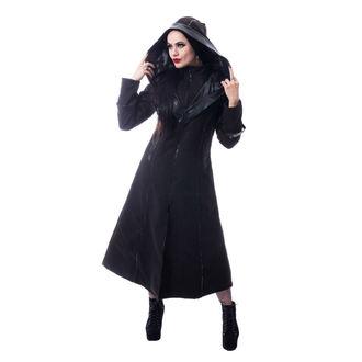 Ženski kaput POIZEN INDUSTRIES - CORVINA - CRNI, POIZEN INDUSTRIES