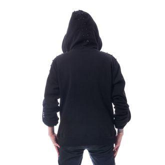 Muška majica s kapuljačom HEARTLESS - CROSSOVER - CRNA, HEARTLESS