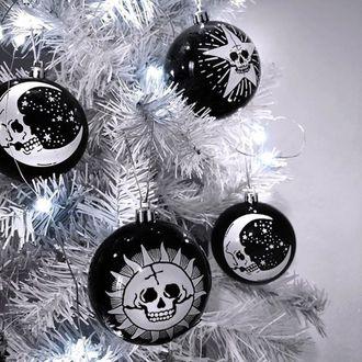 Božićni ukrasi (kuglice) KILLSTAR - Hexmas - Black, KILLSTAR