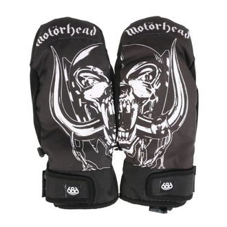 Rukavice Bend - Mountain Mitt - Black, 686, Motörhead