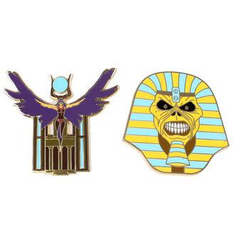 Bedž Iron Maiden - Legacy of the Beast -  Trooper Pharaoh & Aset, NNM, Iron Maiden