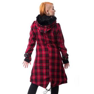 Ženski kaput POIZEN INDUSTRIES - DARE - RED PROVJERITI, POIZEN INDUSTRIES